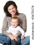 mother with baby | Shutterstock . vector #43670176