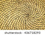Pattern Of Weave Of The Reed...