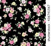 abstract elegance seamless... | Shutterstock .eps vector #436741567