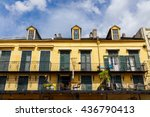 colorful architecture in the... | Shutterstock . vector #436790413