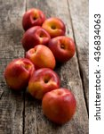 nectarines composition close up ... | Shutterstock . vector #436834063