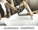 architect design project... | Shutterstock . vector #436854043