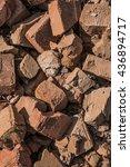 Pile Of Broken Bricks