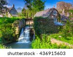 architecture of the corfe... | Shutterstock . vector #436915603