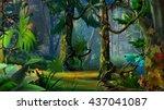 Hidden Forest Path In Summer....