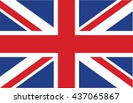 vector image of united kingdom... | Shutterstock .eps vector #437065867