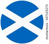 vector illustration flag of... | Shutterstock .eps vector #437125273