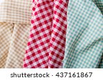 Three Color Tablecloth  Brown ...