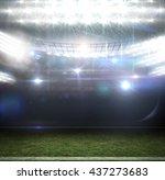 american football arena | Shutterstock . vector #437273683