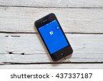 bangkok thailand   june 15 ... | Shutterstock . vector #437337187