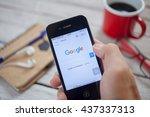 bangkok thailand   june 15 ... | Shutterstock . vector #437337313