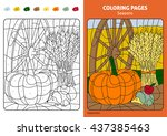 Seasons Coloring Page For Kids...