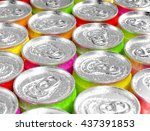 Colorful Aluminum Cans With...