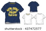 boys t shirt templates   vector