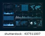 human user display | Shutterstock . vector #437511007
