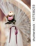 wedding flower decorations | Shutterstock . vector #437538253