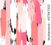 seamless pattern with color... | Shutterstock .eps vector #437567323
