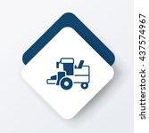 cargo truck icon | Shutterstock .eps vector #437574967