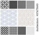 10 universal different vector...   Shutterstock .eps vector #437679643