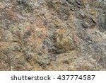stone background  rock wall... | Shutterstock . vector #437774587