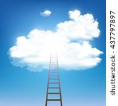 Stairway Rises To The Clouds....