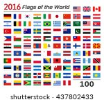 world flags. world flags icons. ...