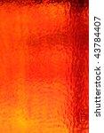 Red Orange Sunny Textured Glass