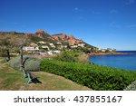 saint raphael  france   april... | Shutterstock . vector #437855167