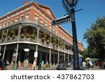 jackson square new orleans | Shutterstock . vector #437862703
