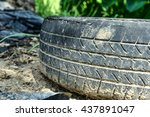 Old Tires Dirty Used Tires.