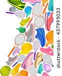 template design of sportswear...   Shutterstock .eps vector #437995033