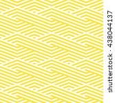 pattern stripes seamless.... | Shutterstock .eps vector #438044137