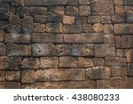 background texture of medieval... | Shutterstock . vector #438080233