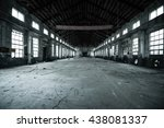 Small photo of Abandoned metallurgical factory interior and building waiting for a demolition.