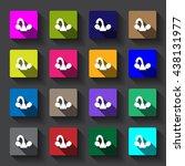 faucet icon vector flat design | Shutterstock .eps vector #438131977