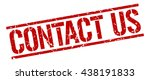 contact us stamp.stamp.sign... | Shutterstock .eps vector #438191833