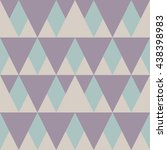 abstract triangle pattern... | Shutterstock .eps vector #438398983