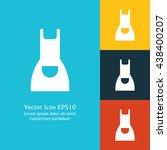 vector illustration of apron...