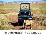 africa  tanzania   serengeti... | Shutterstock . vector #438428773
