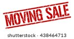 moving sale stamp.stamp.sign... | Shutterstock .eps vector #438464713