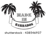 Symbol Made In Barbados With...