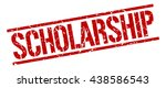 scholarship stamp.stamp.sign... | Shutterstock .eps vector #438586543
