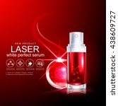 laser serum collagen and... | Shutterstock .eps vector #438609727
