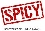 spicy stamp.stamp.sign.spicy. | Shutterstock .eps vector #438616693