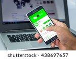 chiang mai thailand   jun 18 ...   Shutterstock . vector #438697657