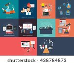 science and research | Shutterstock .eps vector #438784873