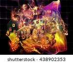 when numbers dream series.... | Shutterstock . vector #438902353