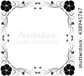 vector decorative frames | Shutterstock .eps vector #438941767