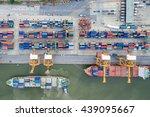 Aerial View Of Industrial...