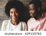 close up shot of young african... | Shutterstock . vector #439120783